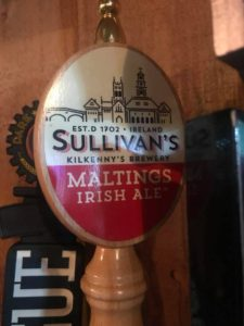 O'Toole's Now Carries Sullivan's Kilkenny's Irish Ale - Straight from Ireland!